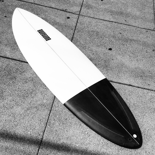 Black and White, PCH 6'0 for @crenshaww EPS and Epoxy. #awesome #awesomesurfboards #teamawesome #surfboard #surfboards #boardporn#madeincalifornia
