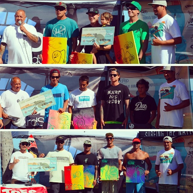 Great time this weekend at the #HawaiiSurfingChampionship at Bowls! Thanks everyone for coming!! Congrats to: Shortboard Division 1st: Cole Yamakawa 2nd: Kainoa Haas 3rd: Kekoa Cazimero 4th: EJ Mitsui  @ToesontheNoseClothing Longboard Division 1st Kai...