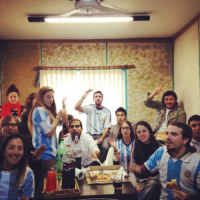 Alguna duda de donde venimos? #GoArgentina #Brasil2014