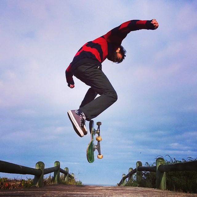Sea board. #skate #nokia @godhateslucas