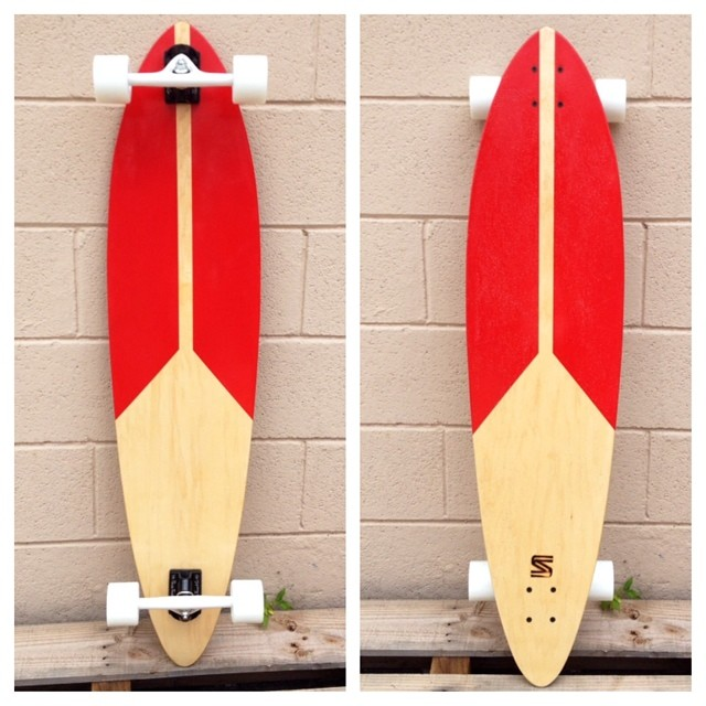 Simple and clean! Go pick up this longboard at salemtownboardco.com! #handmade #skateboard #nashville #surfnashville