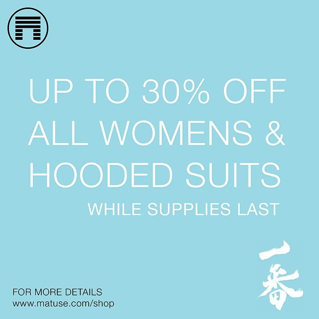 Women & Hooded Suits : 30% Off While Supplies Last #lovematuse