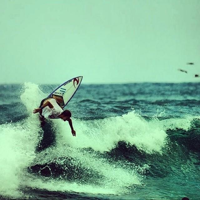 México, la punta! @facundoarreyes  #soul #surfing #waves #reefargentina