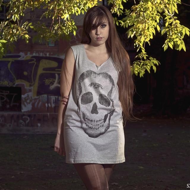 Skull dress  #dress #vestidocalavera #perrabastarda