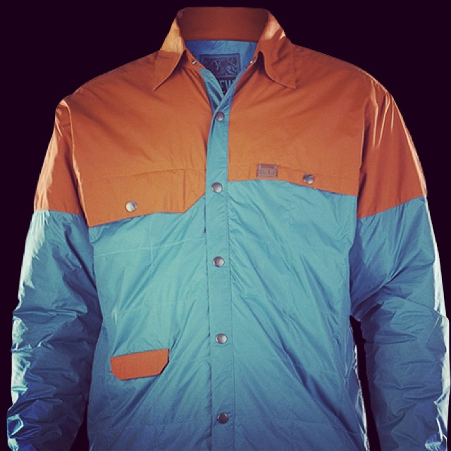 Blue Collar Baller. This PrimaLoft lightly insulated retro work shirt allows you to live in the future and the past simultaneously. The Snap Jack will be available late summer. #futureretro #technylish #trewlife #trewgear