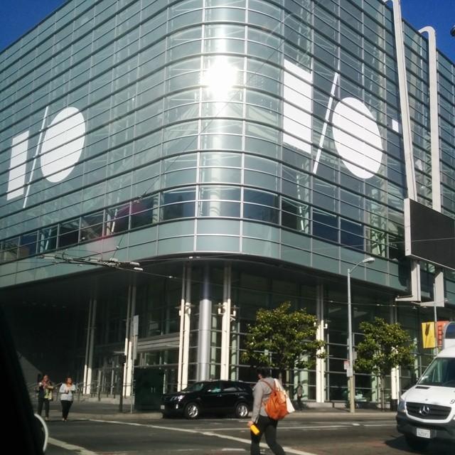 En la esquina de mi trabajo.... Google I/O