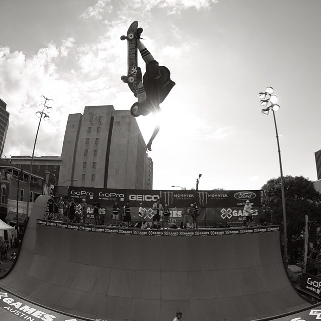 Throwing it back to @jimmy_wilkins winning GOLD in Austin. #XGamesAustin #tbt