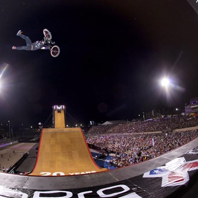 Take flight #XGamesAustin @texasmwade  Photo @espn_images