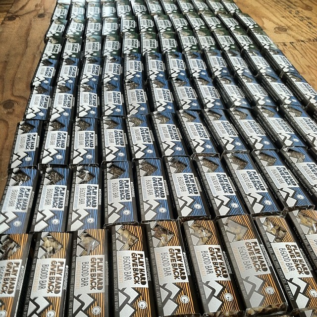 The BGood ladies were in town and dropped off our first run of bars!! These will be available all weekend at the @ridesunvalley event! Let us know what you think!