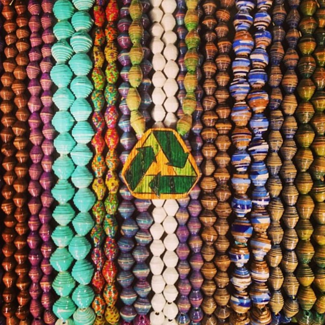 Every handmade @Treepeace item sold saves rainforest with Cuipo ✌#OneMeterAtATime #fashionforgood #upcycledjewlery