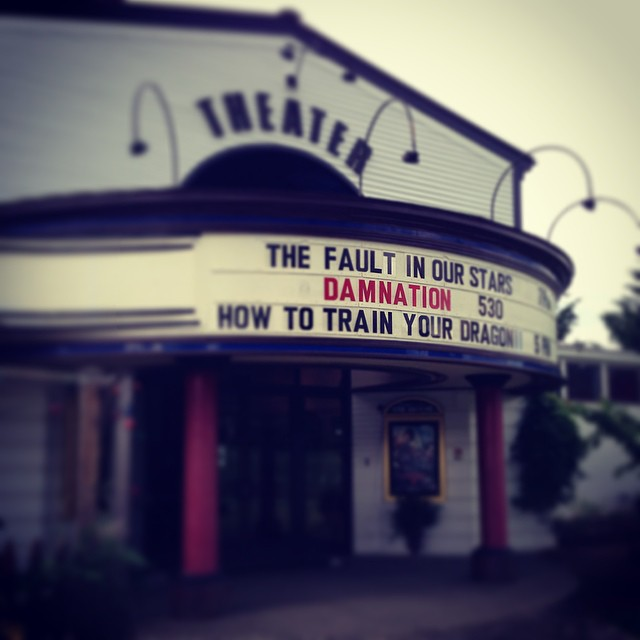 Psyched to see #Damnation tonight! Join us at the Big Picture in Waitsfield, #Vermont.