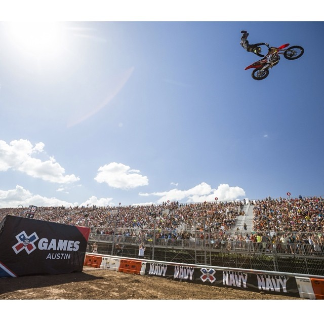 Speed & Style #xgamesaustin #gold @mike_mason81  Photo @espn_images