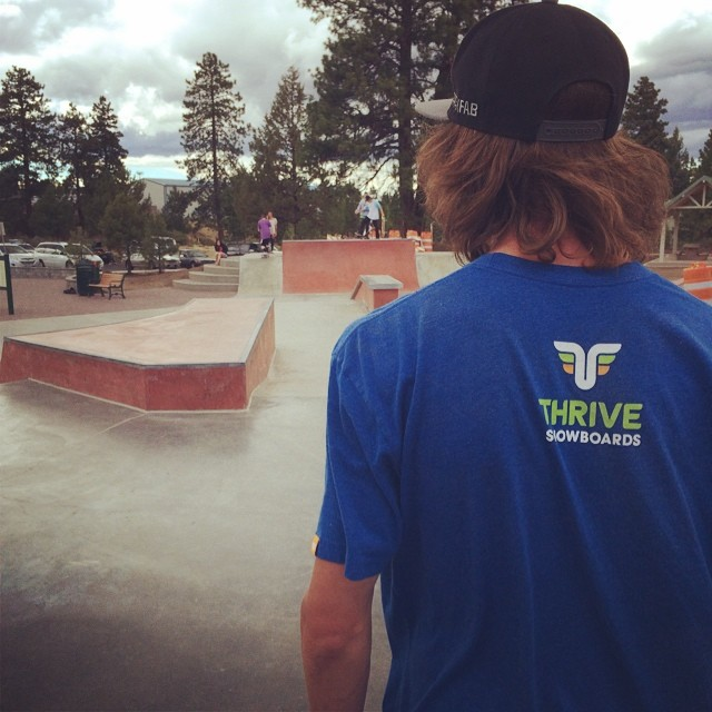 Hitting up the skate park in Bend for a little session with @moofosta and @ppppnut.