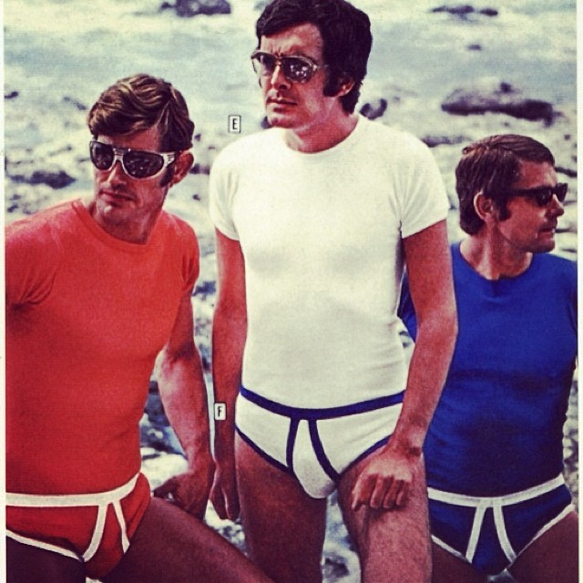 Aren't you glad we changed the underwear game? #gamechanger #ThrowbackThursday #tbt