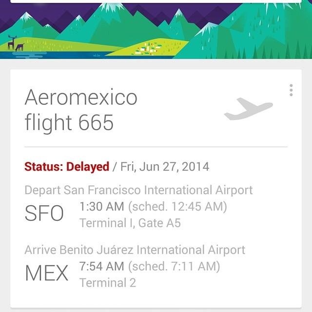 Gracias Aeromexico por una inolvidable primer experiencia con vos.