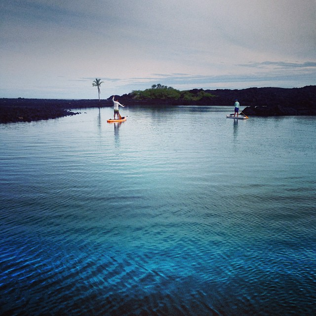 Hold up-enjoy every breath. #sneakpeek of our adventure into the #blue #onepalm #lagoon on a #balloon #imaginepaddlesurf #showupandblowup #itakebioastin @konaboys @kaenon @rareform @odinasurf @swellliving @organik @graceandgreene  #paddlehi @lifeproof