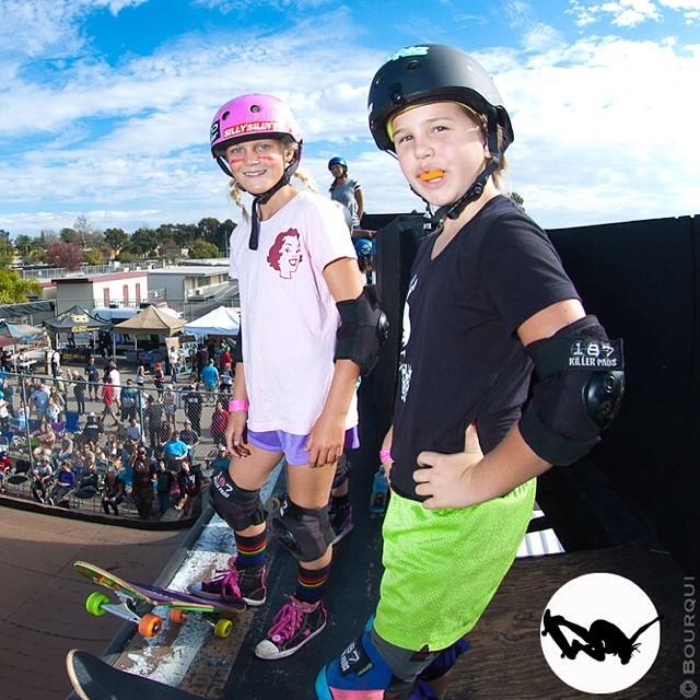 #Flashback Friend Day - Bryce Ava Wettstein and Annika Vrklan, #EXPOSURE2013. #skateboarding #skateboard #skate #skatelife #skatergirl #skatevert #vert