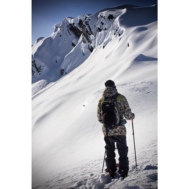 @wileymiller scoping out lines for #elements2014 don't miss it. Out Sept. 2014. #riderowned