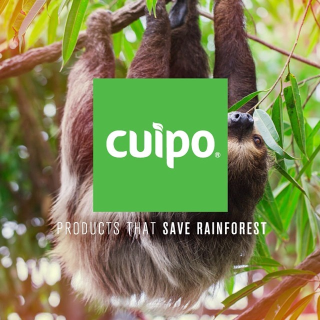 YOU have the power to #saverainforest! Shop and redeem codes over at Cuipo.org to see your saved square meters on the map