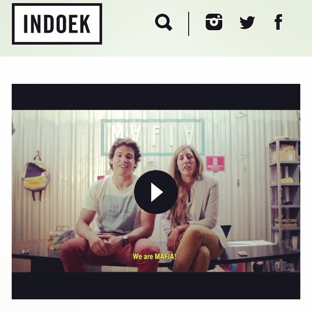 #stoked to be posted in our favorite #blog - @indoek -  Thanks for the support!  By the way, you can #pledge our campaign on @kickstarter . #sailing on the #ocean