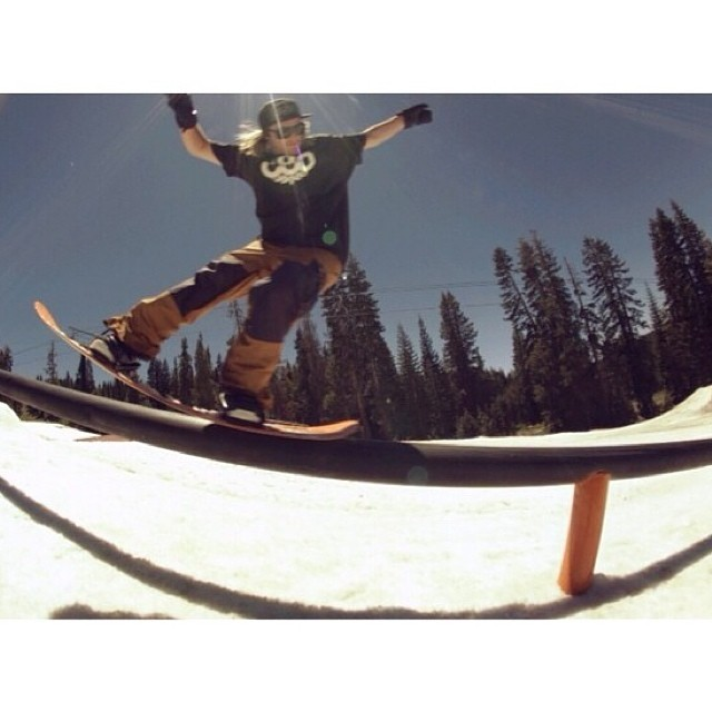@ryan_tarbell throwing down a switch nosepress last week at the  @woodwardtahoe camp with @forestbailey and the rest of the @686 crew! #switchnosepress #propacamba #gethammed #academykidsrule