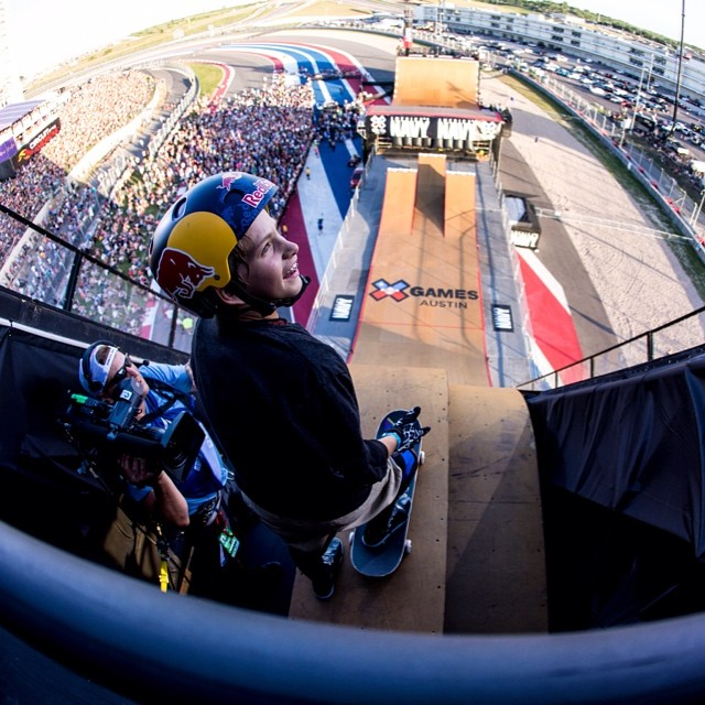 The moment before the moment #xgames  Photo @petermorning
