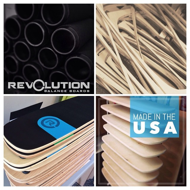 /// Proudly made in the USA /// Revolution Balance Boards ///www.revbalance.com ///