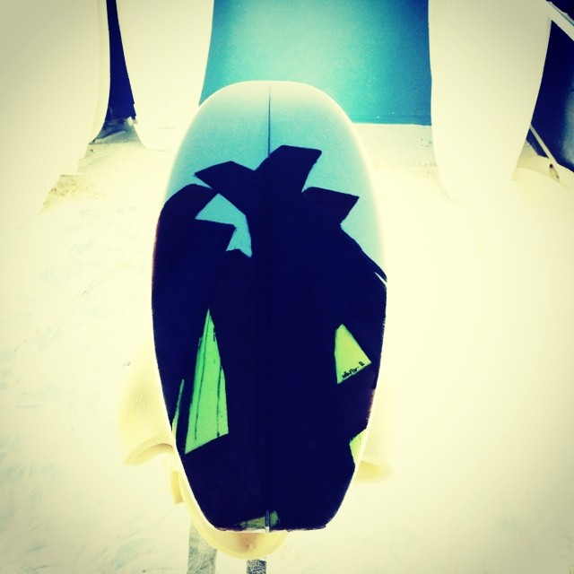 custom artwork on a 5'11 standard #awesome #albumsurfboards #teamawesome #custom #madeincalifornia