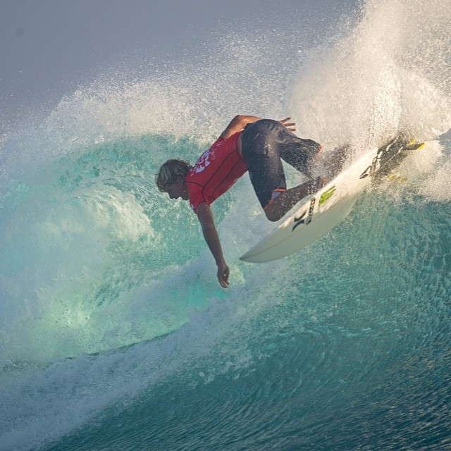 Get ready for surfing. The @ASP Fiji Pro official recap show airs today at 2pm ET / 3pm PT (US only) on ABC. #worldofxgames  Photo @asp
