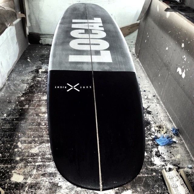 Are you Local? This baby will be glassed tomorrow :) @bostonsurf_chinosurfboards  #coldwatersurf #longboard #surf #local