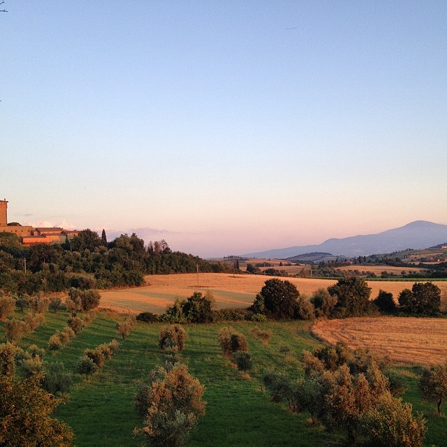 Tuscany at Sunset #goldenhour #tuscany #italy #destinationwedding #palazzomassaini #sunsetchaser #wanderlust #travel