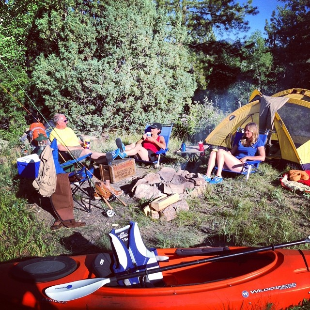 How do you #Pakems? #pakemsinaction #camping #colorado #mountains #outdoor #fishing #flyfishing #kayak #hiking