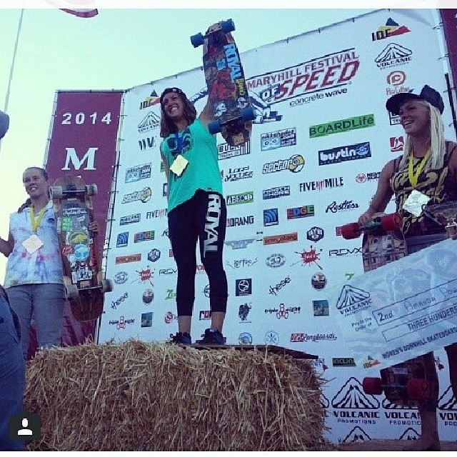 Regram from @carmen_sutra  Congrats to all the ladies who participate this past weekend in #maryhillfos and to these girls that made it to the podium @fillbackside 3rd @amandapowellskate 2nd and @e_coree 1st!! YEAH!!