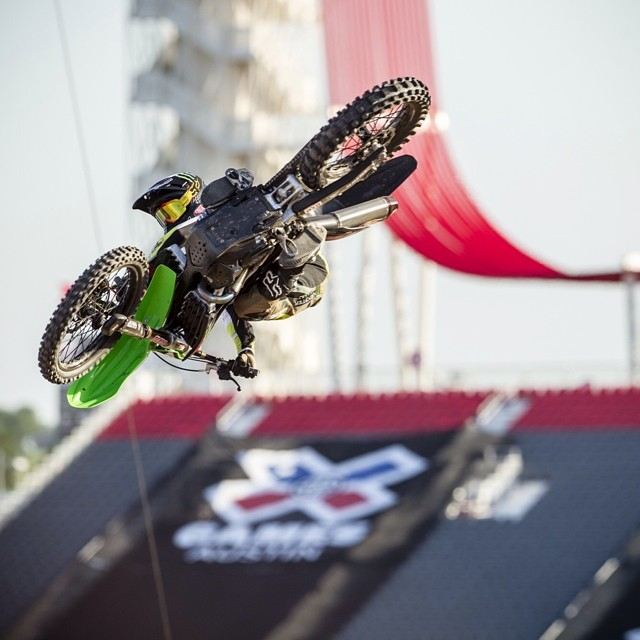 Whips to kick off the week @joshhansen100 #xgamesaustin