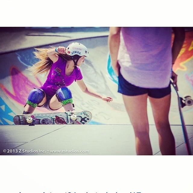 Regram @allyshabergado hyped for the vans us open on July 29th . #skateboarding #bowlrider #s1helmets
