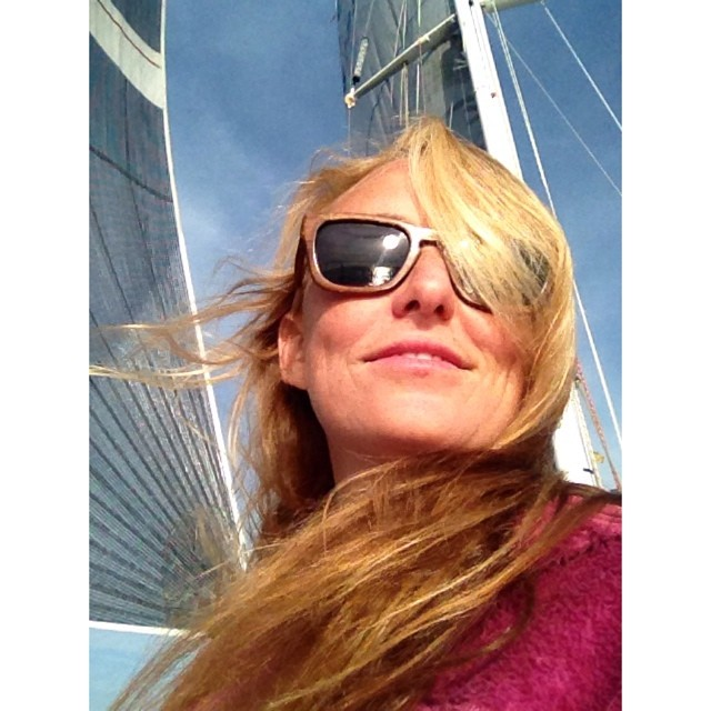 Captain Alison :-) ⛵️ #marthasvinyard