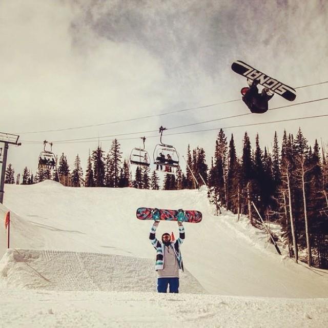 Invierno. Frío. Nieve. Snowboard. Vans. Manu Domínguez.