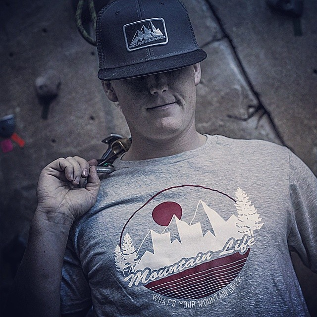 """What's Your #MountainLife?"" #truckerhat #vintage #throwback tee #alpine #boarding #BMX #biking #bouldering #camping #cycling #canoeing #downhill #flyfishing #hiking #kayaking #longboarding #mountainbiking #paddleboarding #roadbiking #rockclimbing..."