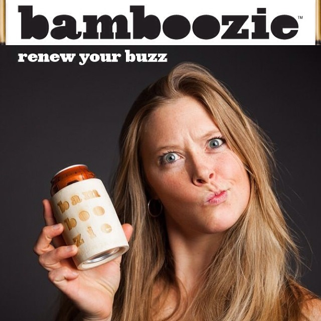With the 4th of July around the corner, it's officially drinking season.  The #Bamboozie is the perfect companion for the environmentally conscious drinker.  Stay true to your ethos, while keeping your hand and beverage cold, with the world's only...
