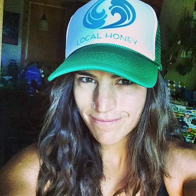 New favorite hat! Thanks Corinne @localhoneydesigns I've got my local honey package for my river trip! Sweet pics to come!