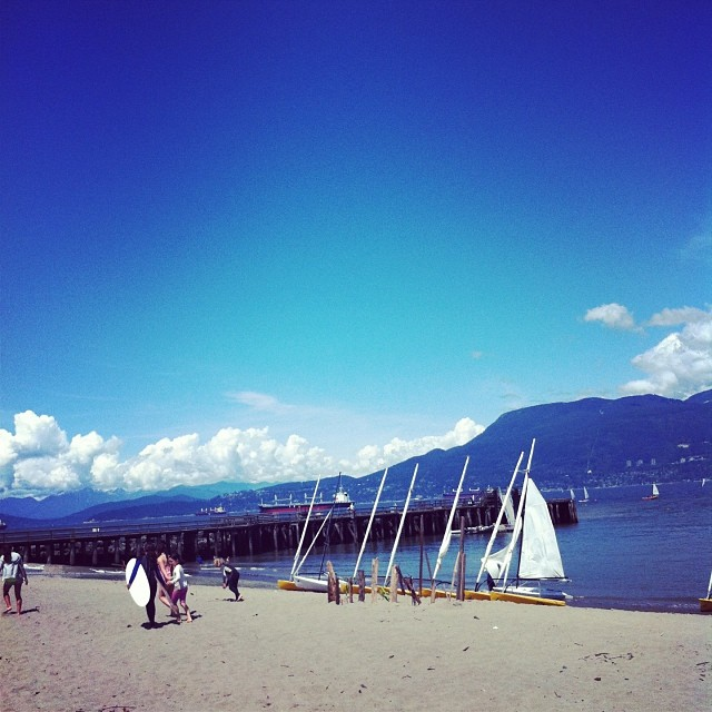 Happy Canada Day from #Vancouver! We love our amazing country! #beach #mountains #freedom #canada