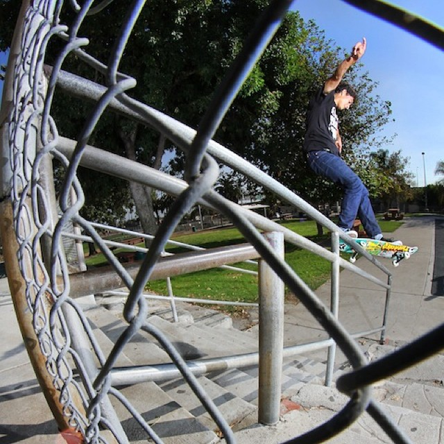 @oscarmezzza locking into a front feeble. Photo @theojway