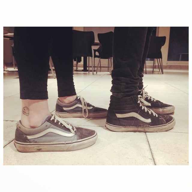 La pareja #OldSkool #Sk8Hi #CulturaVans