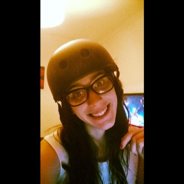 Habemus casco!! Protección +1 @superluck