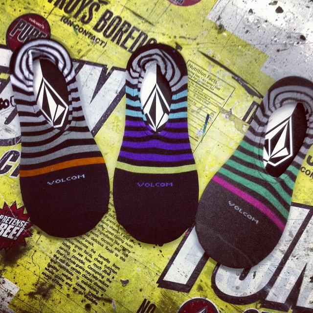 @volcomargentina No Show Stripe Sock #ss14 #volcom #volcomsoks