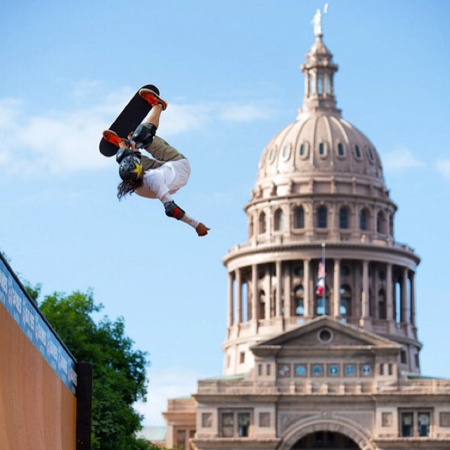 The view from Texas  @buckylasek #xgamesaustin  Photo @originalbk