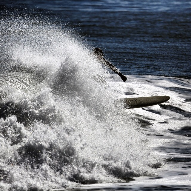 Earlier this year. #coldwatersurf #surf #coldasf #waves #canon #5d