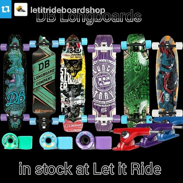 @letitrideboardshop now holding it down for #dblongboards in eastern WA! #spokane #pnw #atlastruckco #cloudridewheels --- New DB longboards, Atlas Trucks and Cloud Ride Wheels now at Let It RIDE!  Let it Ride has the best Longboard and Skate board...