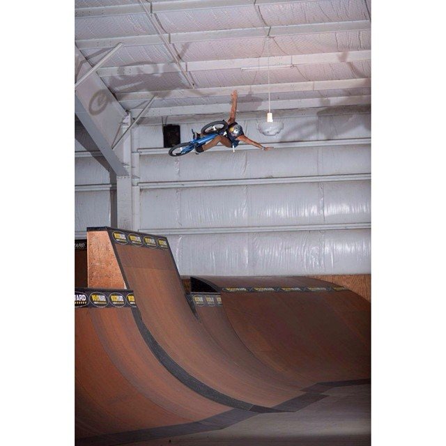 @daniel_sandovalbmx SENDS it at @woodwardwest