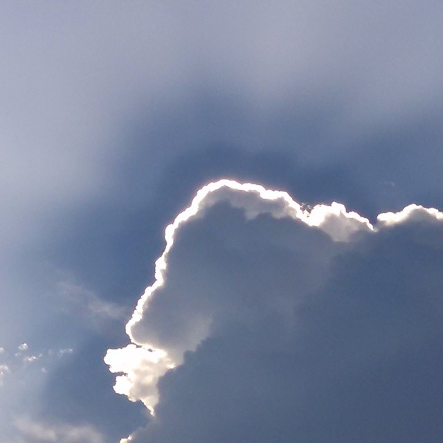 Its true about clouds with silver linings!